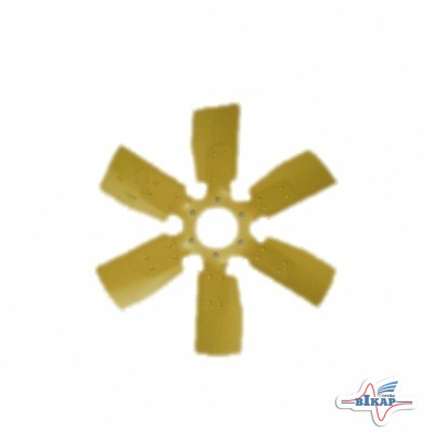 Крыльчатка вентилятора Д-240, Д-245, Д-260.2 МТЗ-892-1221 (6-ти лопастная, металл) (пр-во ММЗ)