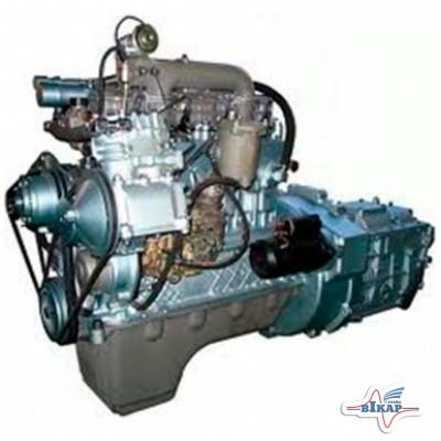 Двигатель МАЗ-4370 (156,4 л.с.) (115 кВт) 24В (полнокомп.) (с 1-но цил. компрессором) (пр-во ММЗ)