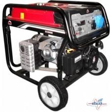 Генератор бензиновый, 1-но фазный, 5,5кВт (Vulkan)