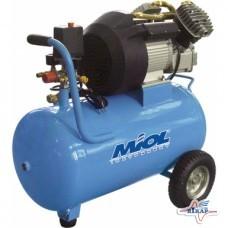 Компрессор масляный прямоприв, 2,2 кВт, 8атм, 50л. (Miol)