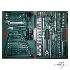 Набор инструмента головки (4-32мм), ключи торц. (8-24мм) 101 ед.
