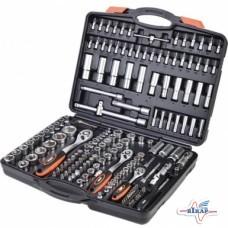 Набор инструмента: головки (4-32мм.) биты 171ед.(Miol)