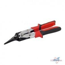 Ножницы по металлу изогн. правые 250мм.(Miol)