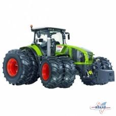 Модель трактора  Claas Axion 950 с сдвоенными колесами, M1:32 (Wiking)