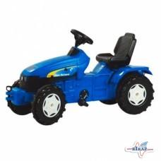 Модель трактора NEW HOLLAND T7500 на педалях, 1120x510x600 мм (ROLLY)