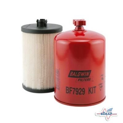 К-т фильтров топливных (гр./т.) (RE525523/33975/P551124/RE556406), JD8230/8430/8530 (Baldwin)