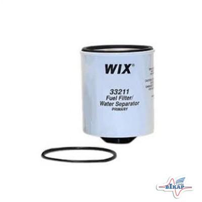 Фильтр гр/очистки топлива (под колбу) (AT81478), JD9500/2266/8400 (WIX)