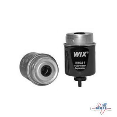 Фильтр гр/очистки топлива (RE62418/RE50455/RE64449), JD7800, 2256 (WIX)