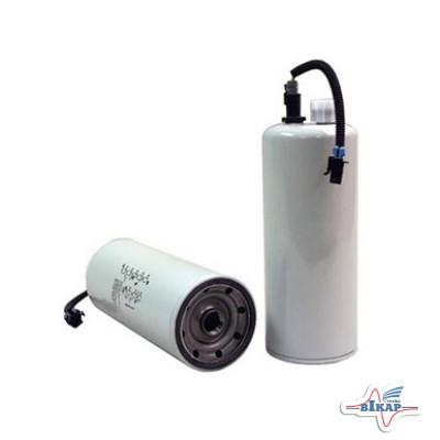 Фильтр гр/очистки топлива (с датчиком) (RE522687/RE531703), JD8420/8320, JD9560/9650/9750STS (WIX)