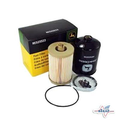 К-т фильтров топливных (гр./т.) (33975/BF7929/P551124/RE527961/RE556406/RE525523), JD8230/8430/8530