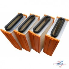 К-т кассет воздухоочистителя прямоуг.К-701(к-т 4шт)(Ливны)