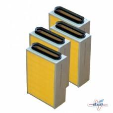 К-т кассет воздухоочистителя прямоуг.К-701(к-т 4шт)(Кострома)