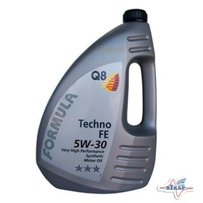 Масло моторное ( 4л ) синт. (Q8 Form.Techno) (API: SL) (ACEA:A1/B1/A5)