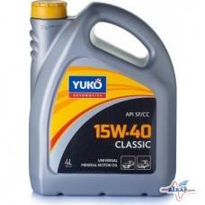Масло мотор. (бензин)( 4л ) CLASSIC минерал. (YUKOIL)