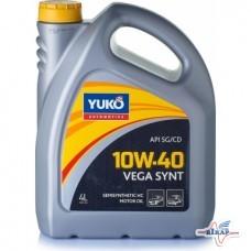 Масло мотор. (бензин) VEGA SYNT ( 4л ) полусинт. (YUKOIL)