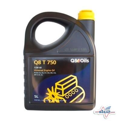 Масло моторное ( 5л ) минерал. (Q8 T 750) (API: CI-4/SL) (ACEA:A3/B3/B4/E3/E5/E7)