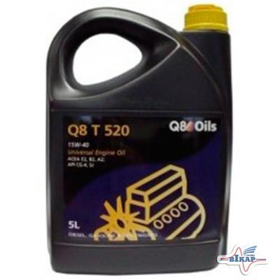 Масло моторное ( 5л ) минерал. (Q8 T 520) (API: CG-4/SJ/CF) (ACEA:A2/B2/E2)
