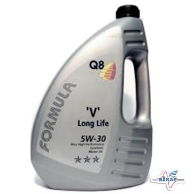 Масло моторное ( 4л ) синт. (Q8 Form. VX Long Life) (ACEA: A3,B4,C2,C3)