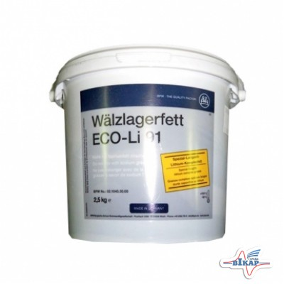 Смазка для ступиц осей 2,5кг ECO (оригинал BPW)