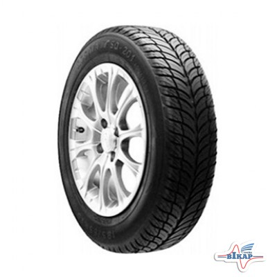 Шина 195/65R15 SQ-201 Tubeless 91H (БцШЗ) лето