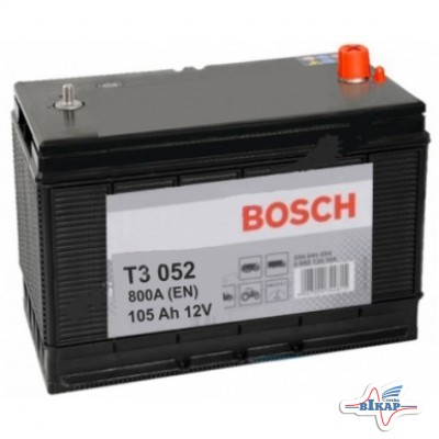 Аккумулятор 6СТ-105 (пр-во BOSCH)