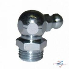 Пресс-масленка 1/4-28 (6,35 мм) угол 90° (G10779/JD7806/JD7845/S.881), JD, Kinze