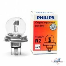 Лампа (фарная) (P45t) (пр-во Philips)