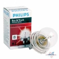 Лампа (фарная) (Р45t) (пр-во Philips)