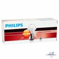 Лампа (стопы, повороты) 2-х контактная (BAY15d) (пр-во Philips)