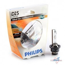 Лампа (фарная) (ксенон) (P32d-2) (Vision) (пр-во Philips)
