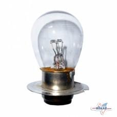Лампа (фарная) (2-х контакт.) тракторная оптика (пр-во Искра)