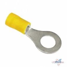 Наконечник провода желтый (10 шт) (под провод d=4– 6 мм2), болт- d=6 мм (MCXFA1069), Vapormatic