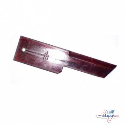 Нож измельчителя неподвижный гладкий (Z59020/80746805/42221/D49018300), JD, NH (Rasspe)