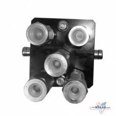 Блок муфт быстроразъемных (87721868/84435010), CX8080/CR9080 (до -С968)