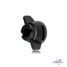 Гайка форсунки SW8/10мм Hardi (черная) (Lechler, Германия)
