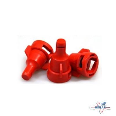 Распылитель дефлекторный для жид.удобр. КАС FD 04 (красный) Lechler (Германия)