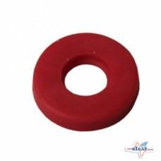 Прокладка распылителя форсунки на хомут Ф32,Ф25 (красная) RAU