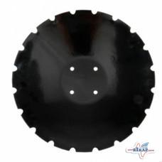 Диск бороны (ромашка) Amazone XL043-04 (Днар=460 мм,4отв.12мм окруж.120мм)(Борирован.) (Велес-Агро)