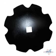 Диск бороны (ромашка) ДМТ-4(6) (квадрат 70, Днар=660мм 6мм.)Bellota