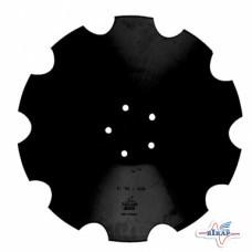 Диск бороны (ромашка) Horsch Joker (Днар=510 мм, 5отв 28071305) z=10 (Борированный) (Велес-Агро)