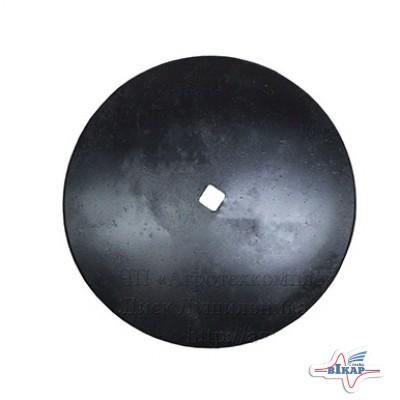 Диск лущильника ЛДГ  Ф450 мм. квадрат.31 мм.
