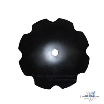 Диск бороны (ромашка) БПД (D=820мм, круг 66мм) (ФРЕГАТ) (Бор) (Велес-Агро)