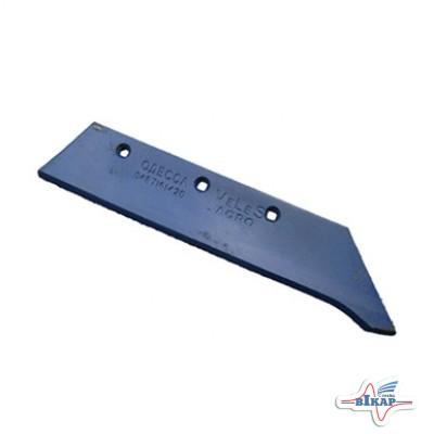 Лемех плуга ПЛН-3,4,5-35 (борированная сталь-наплавленный) (Велес-Агро)