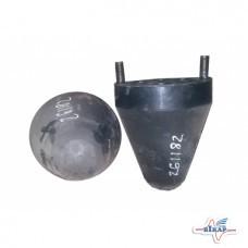Подушка рессоры прицепа TO-26