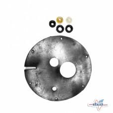 Р/к дозатора полный с/о (диафрагма отв.35мм+втулка рез.3шт, втулка пласт.2шт) ПК-20