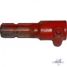 Переходник вала карданного с 21 на 8 шлицов (внутр.21 внешн.8)