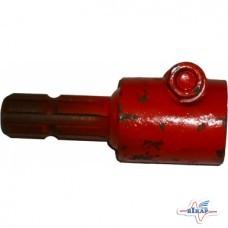 Переходник вала карданного с 20 на 6 шлицов (внутр.20 внешн.6)